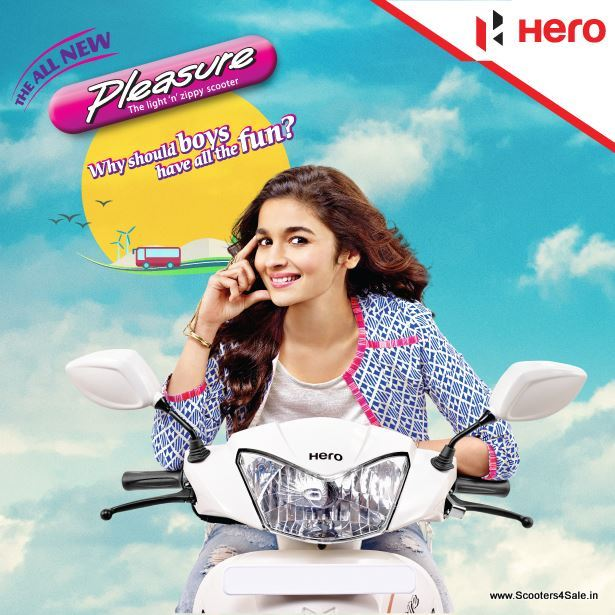 Hero Pleasure Alia Bhatt