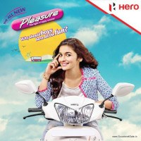 Hero Pleasure and Alia Bhatt