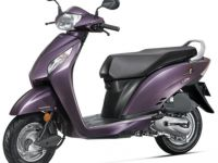 Honda Activa i Purple Colour