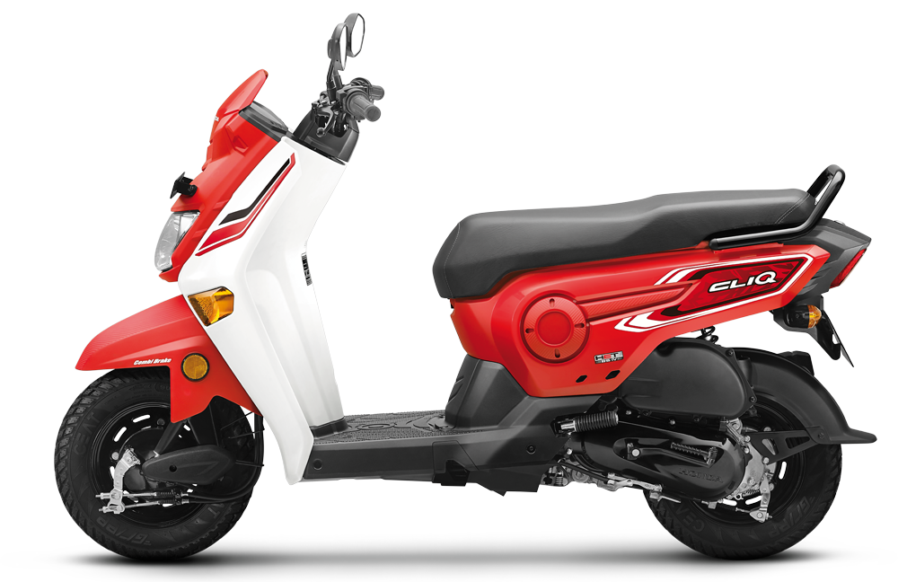Red Honda Cliq