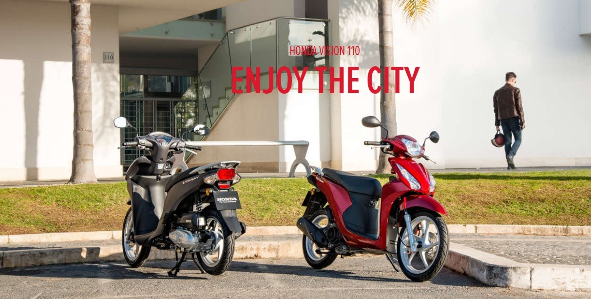 Honda Vision 110 Enjoy The- City