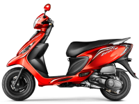 TVS Scooty Zest 110 Red