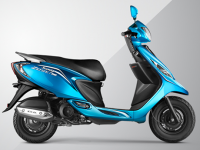 TVS Scooty Zest 110 Side View