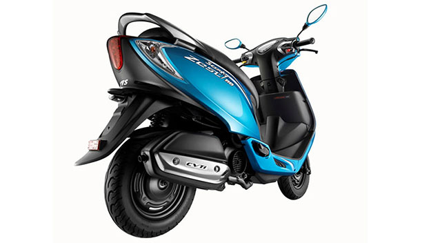 TVS Scooty Zest 110 Back Side