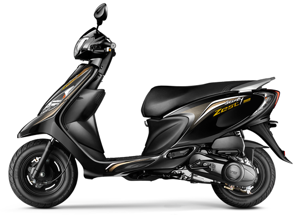 TVS Scooty Zest 110 Black