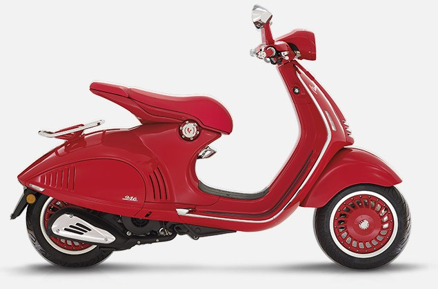 Vespa 946 Red Side View