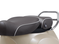 Vespa Elegante Scooter Seat With Chrome Guards