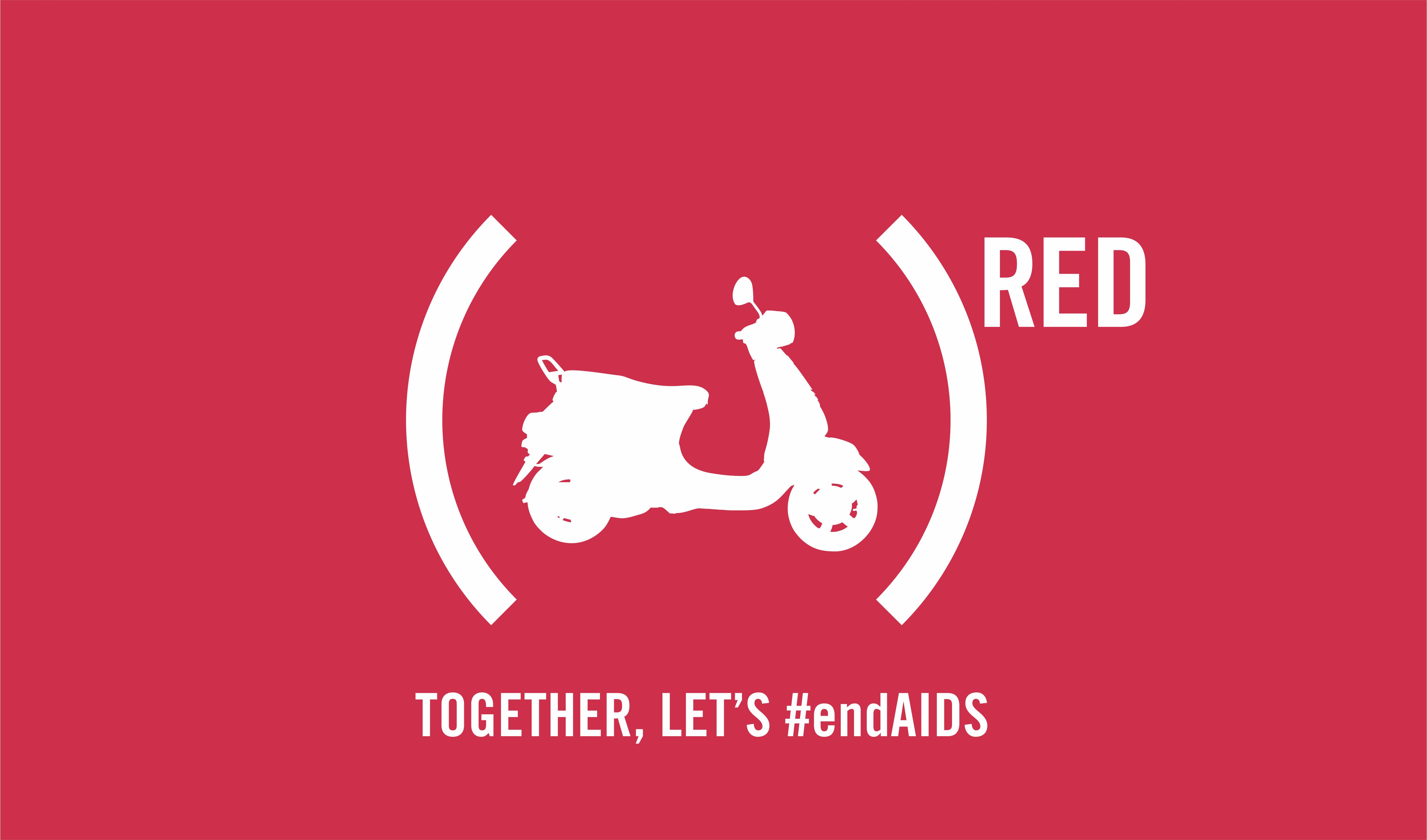 Vespa RED End Aids