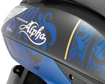 Yamaha Alpha Graphics