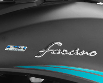 Yamaha Fascino Graphics