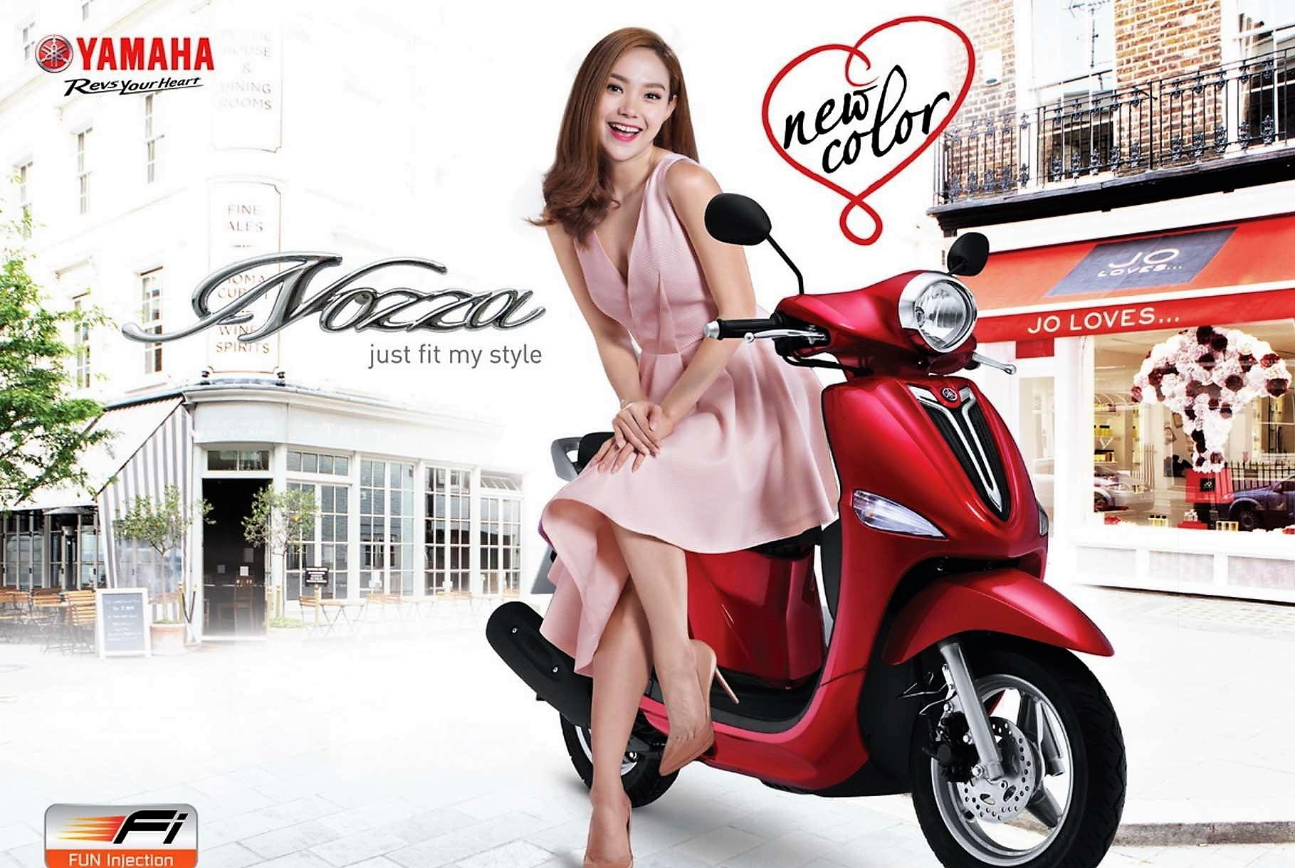 Yamaha Nozza Grande Red