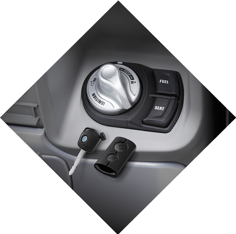 Yamaha QBix Scooter Smart Key System