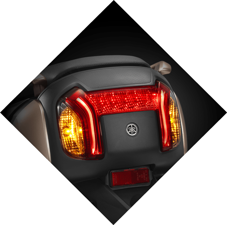 Yamaha QBix Scooter Full Led Tail Light