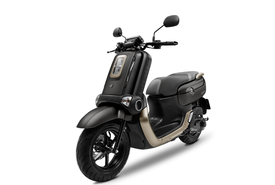 Yamaha QBix Scooter Black