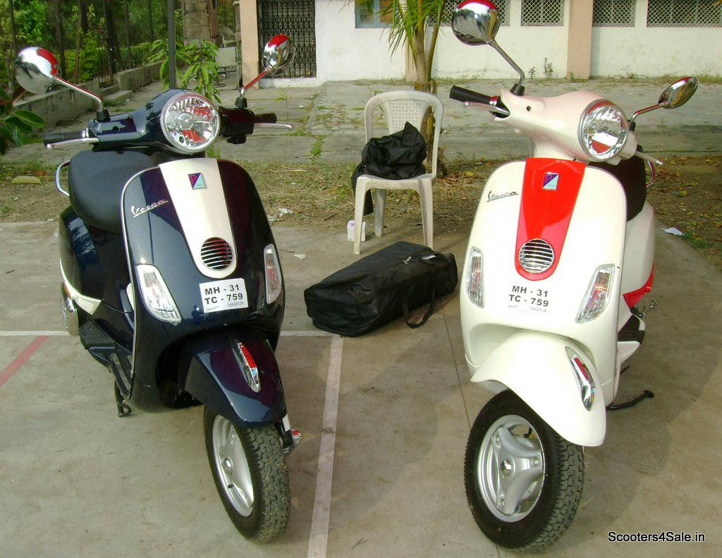 Classic Vespa Scooters Modified