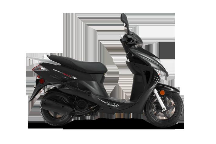 Powermax Black Scooter