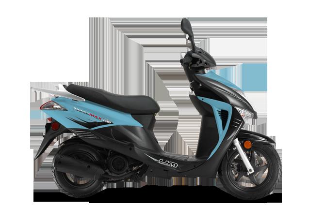 Powermax Blue Scooter