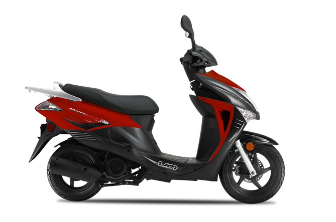 Powermax Red Scooter