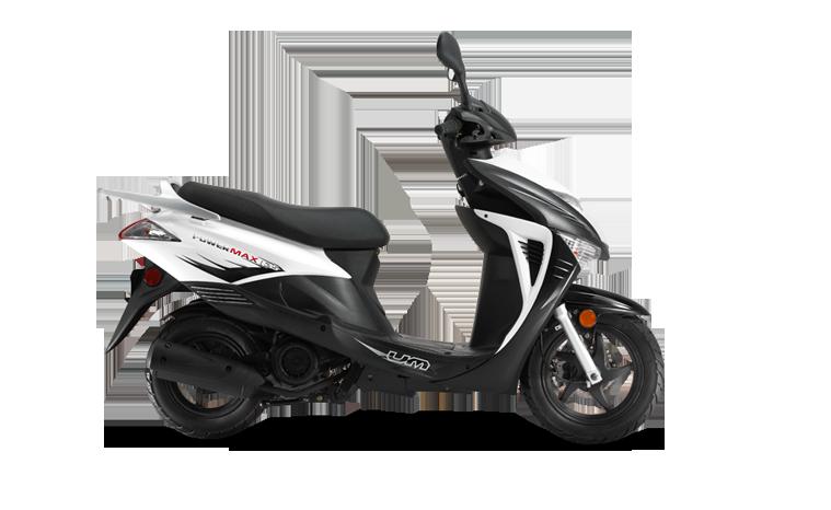 Powermax White Scooter