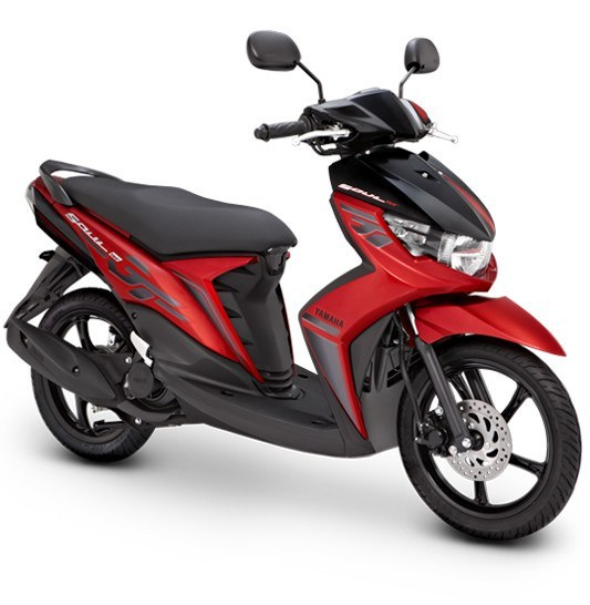 indonesia gets the new soul gt 125cc scooter from yamaha scooters4sale. Black Bedroom Furniture Sets. Home Design Ideas