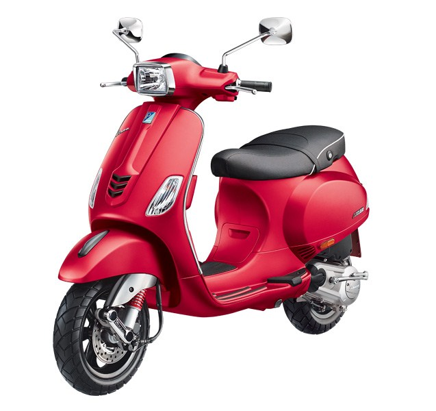 Vespa SXL 150 Matt Red