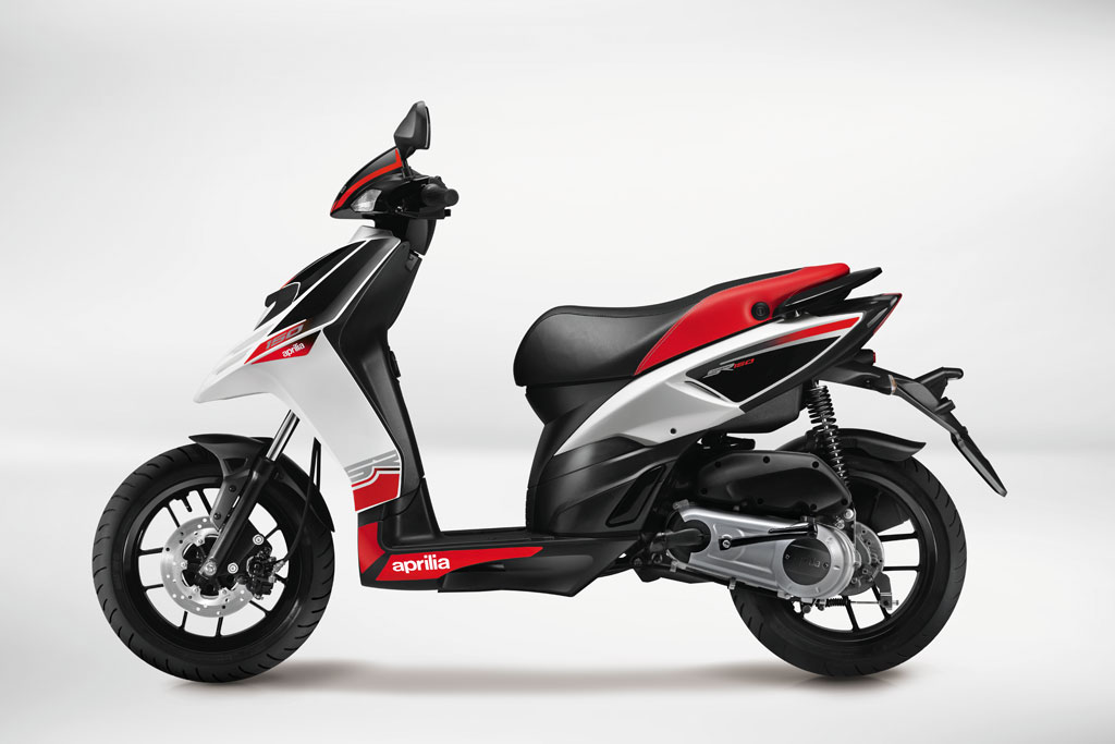Aprilia SR150 Side View