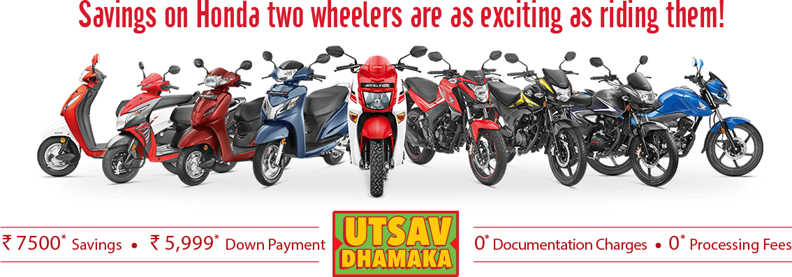 Honda Scooters Diwali Offers