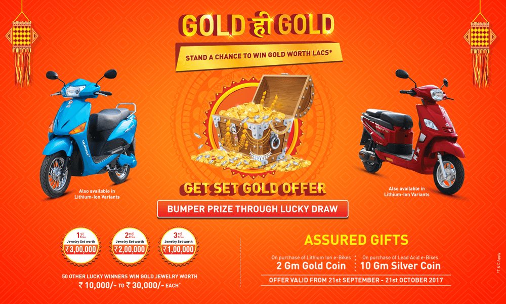 Hero E-Bikes Gold Coin Offer