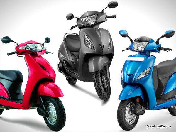 TVS Jupiter Vs Honda Activa Vs Hero Maestro